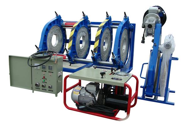 Máy Hàn Ống Nhựa HDPE, PPR Tự Động Thủy Lực 180-450